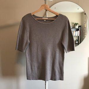 SPANNER | Grey-Beige Blouse